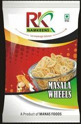Masala Wheels, Packaging Type: Packet