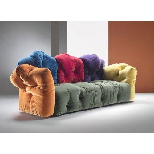 Delightful Multi Color Sofa Chair
