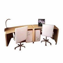 Double Study Table, Padhne Wali Mez   Ashapurimata Furnitures, Ulhasnagar |  ID: 13914055073