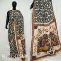 Bagru Printed Chanderi Silk Saree
