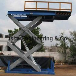 Scissor Lift with Extended Platform