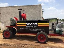 Tyre Mounted Bitumen Sprayer
