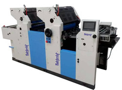 Two Color Carry Bag Printing Machine