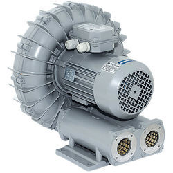 Single And Double Stage Side Channel Ring Blower