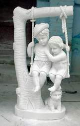 Garden Swing Statues