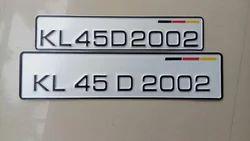 Number Plate Dies