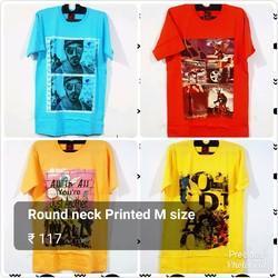 Mens Casual Printed T Shirt