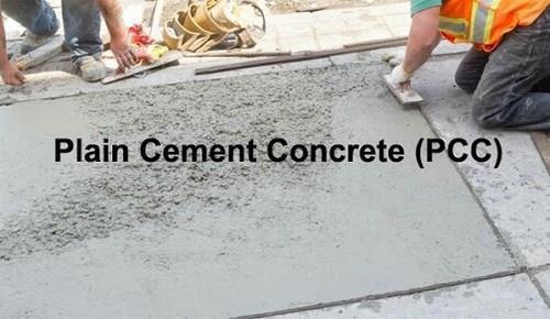 Plain Cement Concrete Grade Standard 30 Rs 40 Square