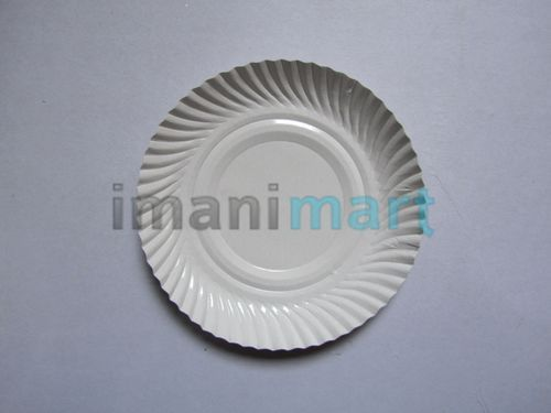Plastic Coated Paper Plate & Plastic Coated Paper Plate at Rs 5 /piece(s) | Disposable Plate | ID ...