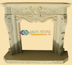 Stone Fireplace In Mint Sandstone