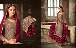 Mohini Glamour 57 Designer Straight Cut Sharara Suits