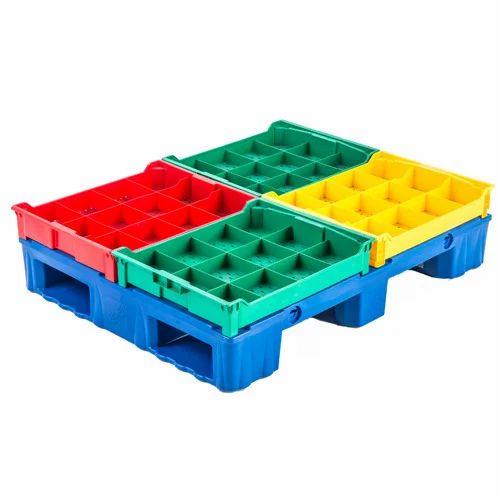 Multi Color Plastic Pallets