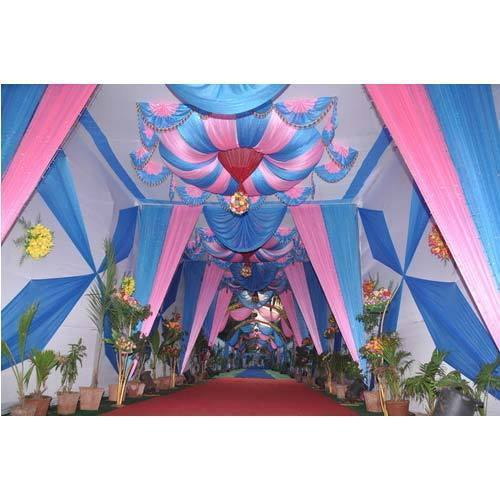 Printed Cloth and Ceiling Wedding Tent  sc 1 st  IndiaMART & Printed Cloth And Ceiling Wedding Tent - Shree Lakshmi Tent ...