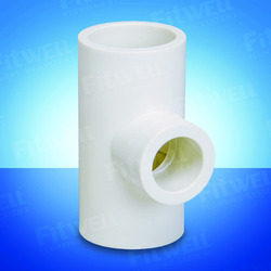 Fitwell UPVC Reducer Tee, Application:Structure Pipe