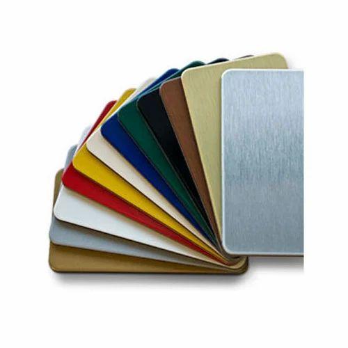 Colored Aluminium Composite Sheet at Rs 48 /square feet | Aluminum ...