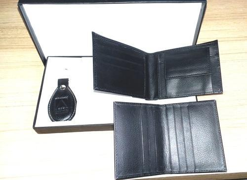 Black Brown Maroon Leather Corporate Gift Set