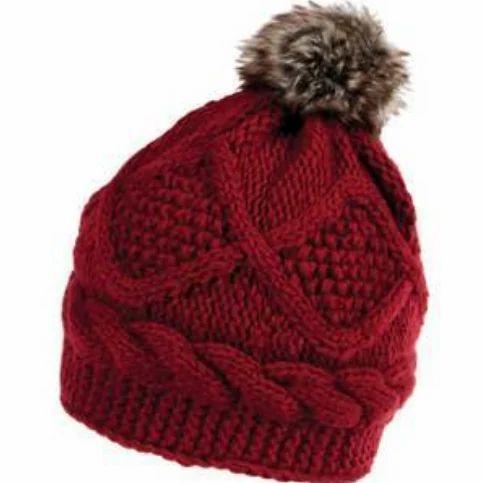 Ladies Designer Woolen Cap d9c865dc153b