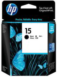 HP 15D Black Ink Cartridges