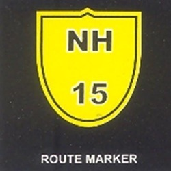 Route Marker For Roadways