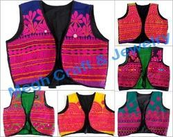 Kutch Embroidered Koti Shrug Westcoat