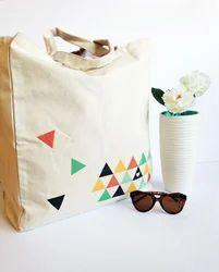 Designer College Jute Bag