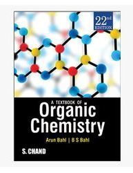 A Textbook Of Organic Chemistry Books