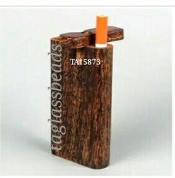 Wooden Smoking Dugout Pipe