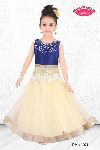 Girls Party Wear Gown at Rs 1495 /piece(s) | Dadar West | Mumbai ...