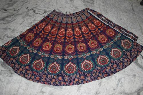 d6770eb0c8b Black And White Print Divider Palazzo · Read More · Women Cotton Wrap Skirt