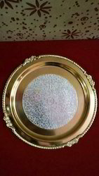 Gold/ Silver Plated Brass Tray
