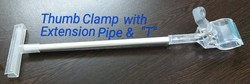 Thumb Clamp with Aluminium Extension pipe & T