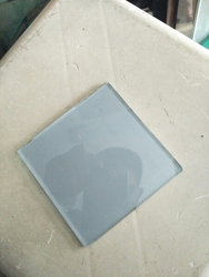 Square Back Painted Glass
