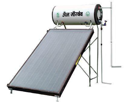 Jain Solar FPC Solar Water Heating System, Sunrise Open Loop System ...