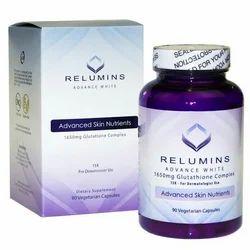 Relumins 1650mg Glutathione Pills