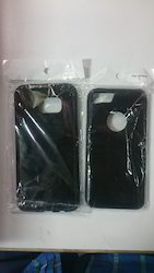 Black Plastic Mobile Phone Cover