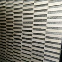 White/Black Mosaic Tile