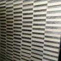 White/Black Mosaic Tile