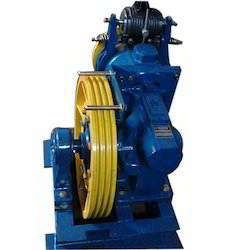 Electric Elevator Geared Machine