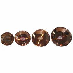 Copper Pooja Thali