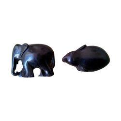 Ebony Wooden Elephant