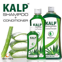 Kalp Men Natural Aloe Vera Shampoo, Pack Size: 500 Ml, 1 L, Packaging Type: Bottle