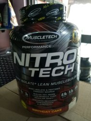 Nitro Tech Muscle Tech Protein Supplement
