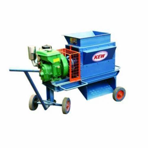 KEW 5HP Semi - Automatic Agricultural Shredder