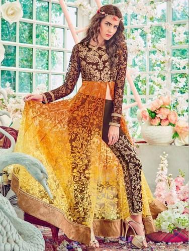 Readymade Designer Gown Suit at Rs 1150 /piece | Shivan Plaza ...