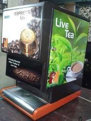 Fresh Milk Filter Coffee Vending Machines