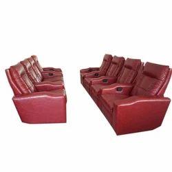 Plain Leather Corner Sofa