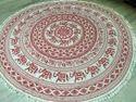 Mandala Round High Quality Round Tapestry - Elephant Printed