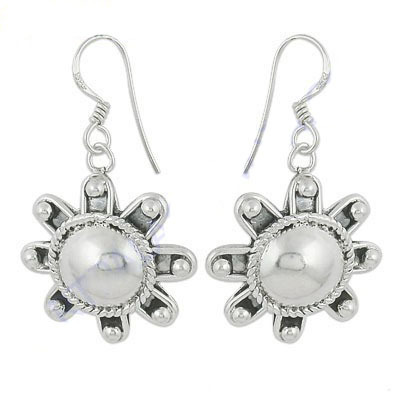 Art Palace Beautiful 925 Sterling Plain Silver Earrings