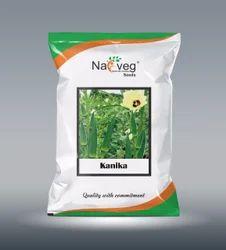NAVVEG SEEDS KANIKA Hybrid Bhindi Seeds, Pack Size: Pouch
