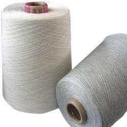 Raw White Polyester Cotton Yarn, For Weaving